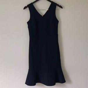 NWT Sheath Flounce Hem Dress